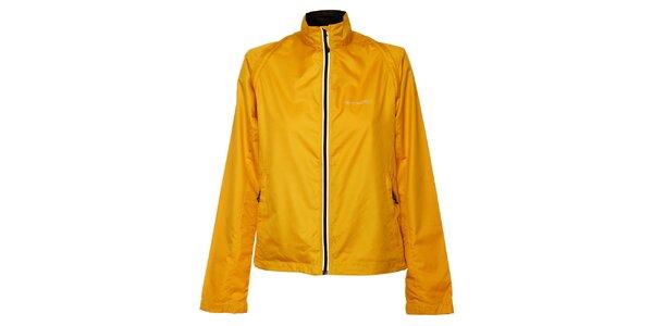 Dámska sýto žltá bunda a zároveň vesta Trimm