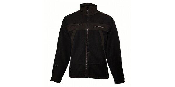 Pánska čierna softshellová bunda Trimm