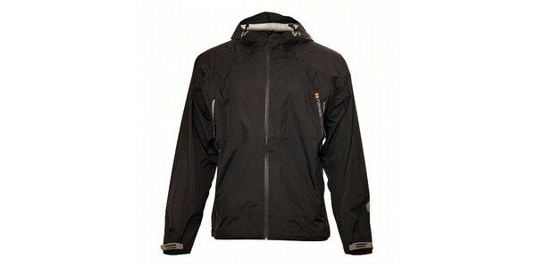 Ľahká čierna nepremokavá bunda Trimm