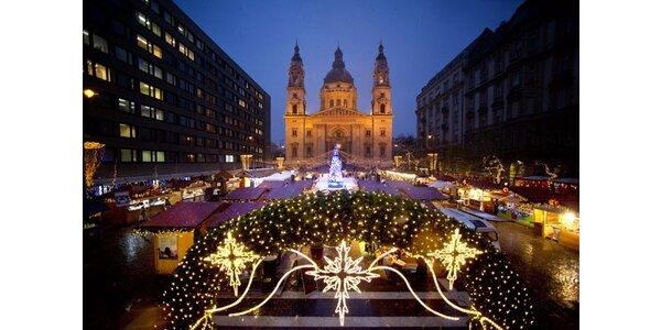 Historická Budapešť a vianočné trhy
