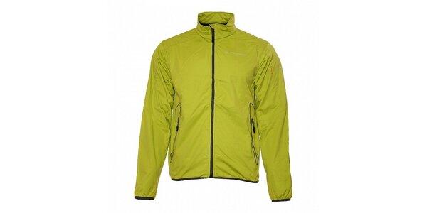 Pánska svetlo zelená ľahká softshellová bunda Trimm