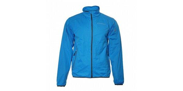 Pánska azúrovo modrá ľahká softshellová bunda Trimm