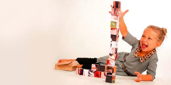 Detské kocky s fotopotlačou v darčekovej kazete