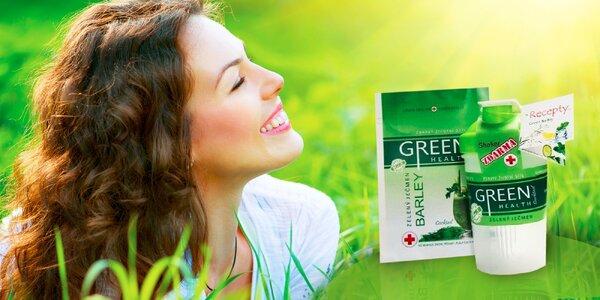 Spravte si koktejl zo zeleného jačmeňa a nakopnite svoje telo! Balenie aj so…