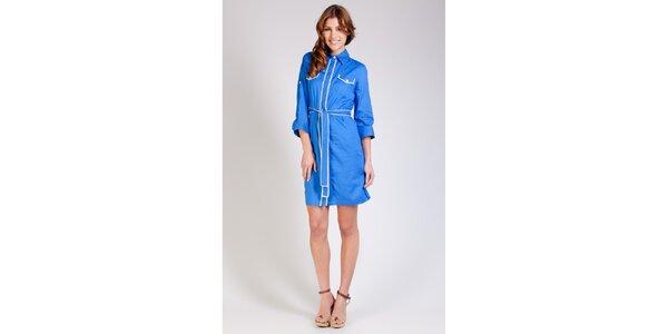 Dámske žiarivo modré šaty Tonala