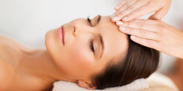 Kompletné ošetrenie pleti + masáž tváre a úprava obočia