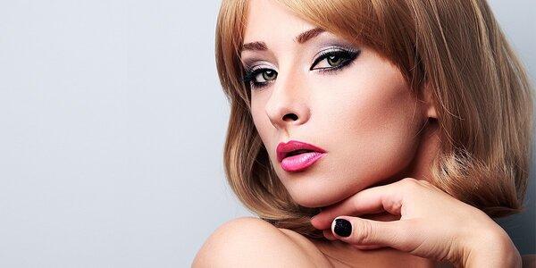 3D mihalnice, 3D permanentný make-up alebo líčenie
