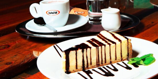 Káva alebo čínsky čaj s koláčikom v Mačkafé klub