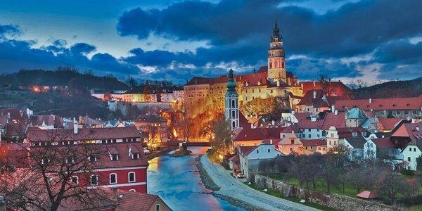 2 alebo 3 romantické noci v Českom Krumlove