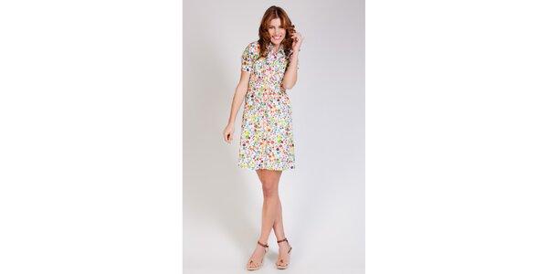 Dámske pestrofarebné šaty Tonala s kvetinovým vzorom