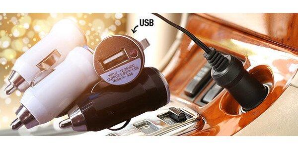 Jedno alebo dvoj portový USB auto adaptér