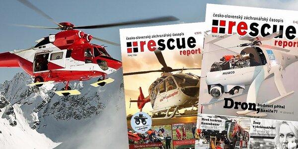 Predplatné záchranárskeho časopisu RESCUE report