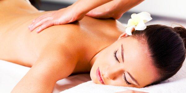 Klasická masáž + lymfodrenáž tváre alebo bambusová