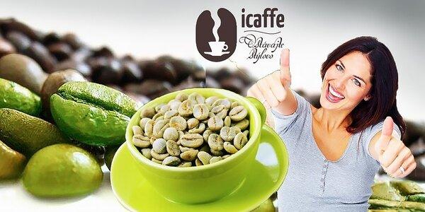 Zelená káva – s príchuťou vanilky, zázvoru, kardamónu, škorice