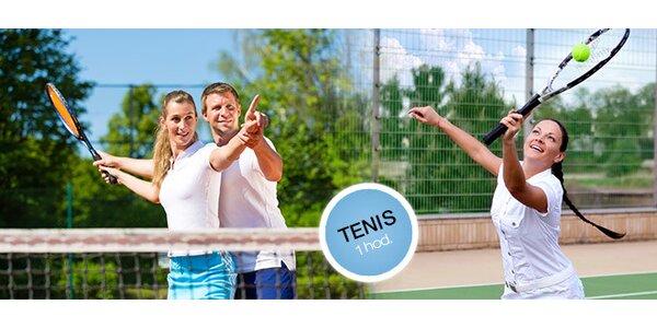 Hodinový prenájom tenisového kurtu