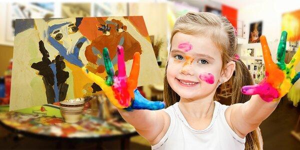 Jarný alebo štrajkový výtvarný tábor pre deti od 6 do 14 rokov