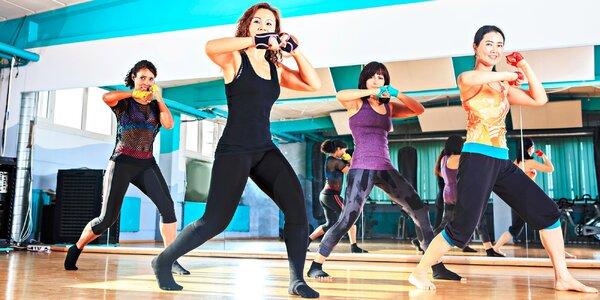 Skupinové cvičenie Jumping, Piloxing, HIIT, TBW + sauna
