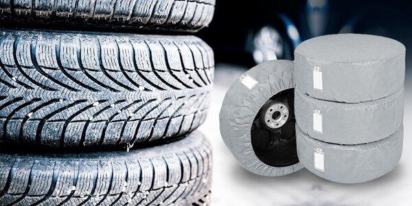Set 4 ochranných obalov na pneumatiky
