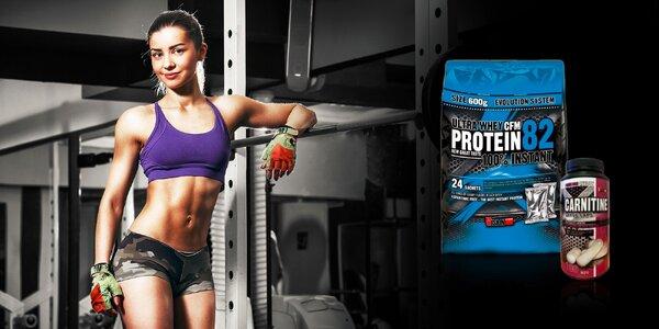 Balíček doplnkov výživy pre tvarovanie tela