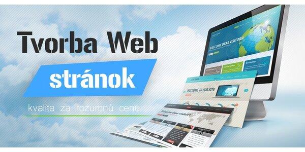 Tvorba profesionálnej web stránky či e-shopu