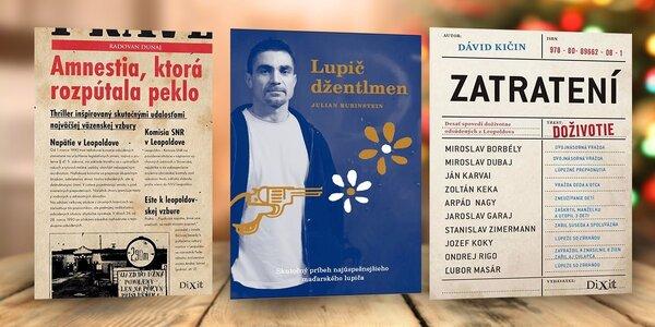 TIP na darček! Sada 3 kníh z väzenského prostredia