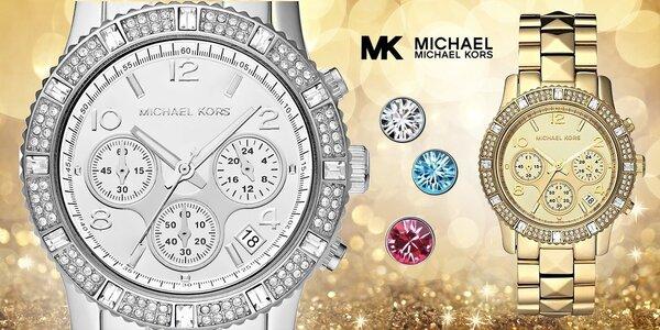 Dámske luxusné hodinky Michael Kors + náušničky zadarmo