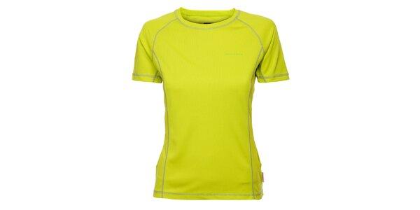 Dámske limetkové funkčné tričko Envy