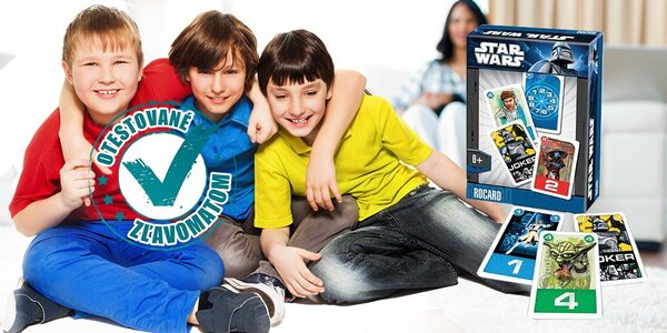 Dynamická kartová hra s obrázkami Hello Kity i Star Wars
