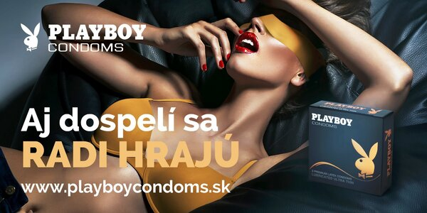 Balíčky PLAYBOY kondómov