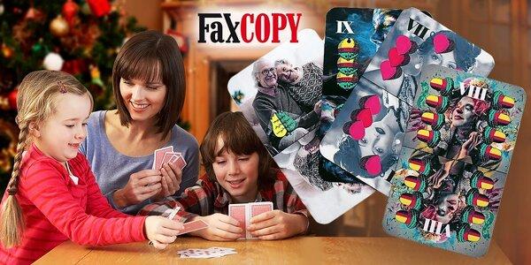 Hracie karty s vlastnými originálnymi fotografiami