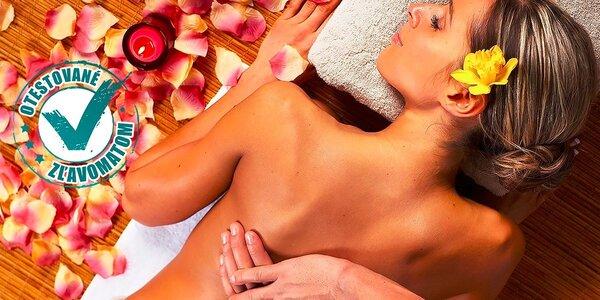 3 druhy terapeutických masáží celého tela