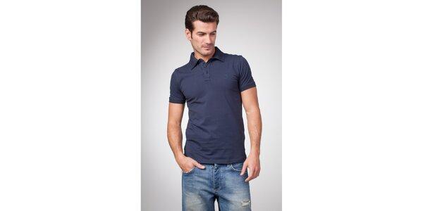 Pánske modré polo tričko Bendorff