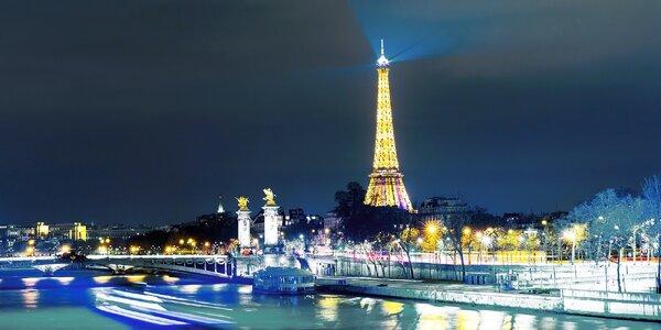 4-dňový Silvestrovský zájazd do Paríža