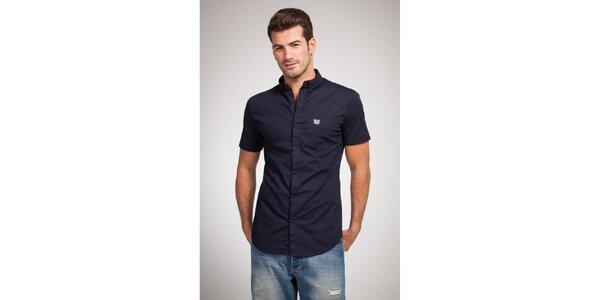 Pánska tmavo modrá košeľa Bendorff