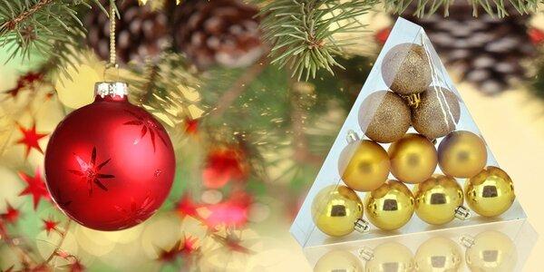 Vianočné gule na stromček, ktoré sa nerozbijú!