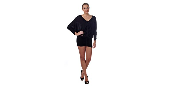 Dámske čierne mini šaty Killah