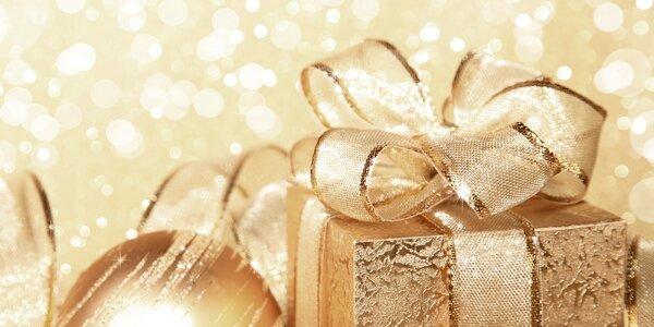 Každý darček si zaslúži peknú vianočnú stuhu
