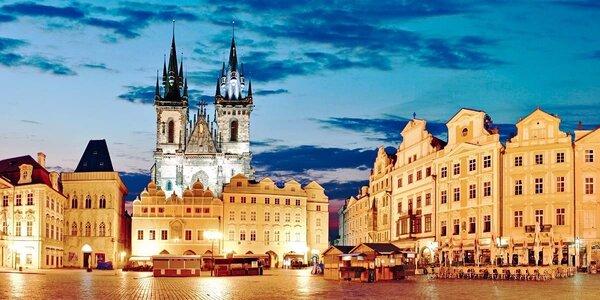 Romantika v centre Prahy s divadelným zážitkom