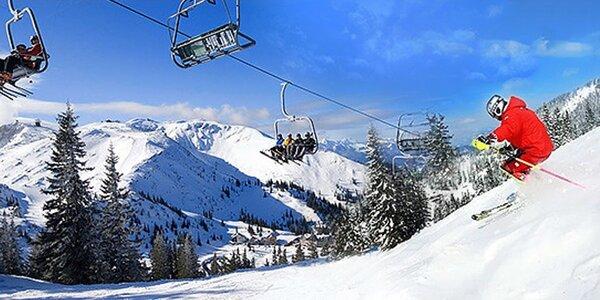 Lyžovačka pre celú rodinu v Rakúskych Alpách