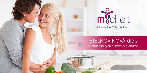 Schudni zdravo, rýchlo a trvale s diétou m.diet