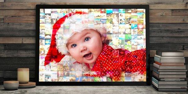 Mozaika z vlastných fotografií – spomienky v obraze
