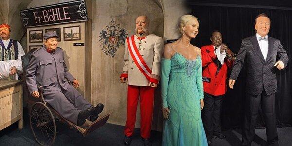 Vstup do úžasného Múzea voskových figurín