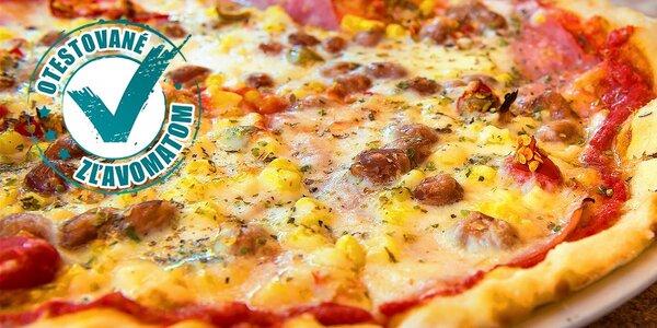 Pizza pre dvoch alebo jedného hladoša