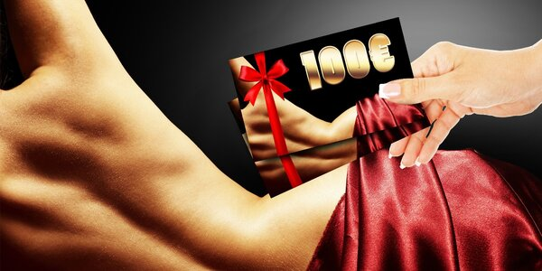 Darčeková karta na estetické ošetrenie v hodnote 100 €