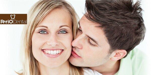Komplexná dentálna hygiena s pieskovaním zubov