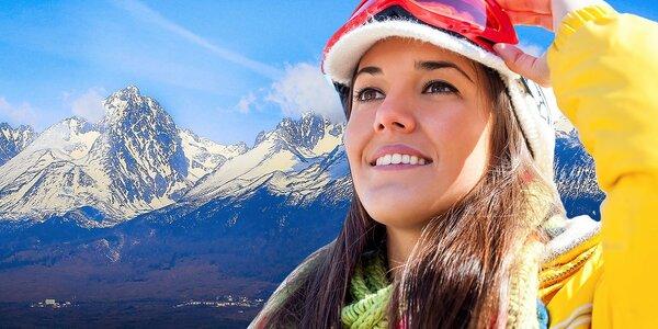 Skvelý zimný pobyt pod Tatrami