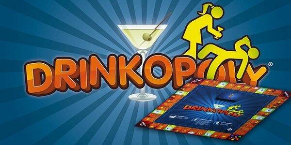 Zábavná party hra pre všetkých dospelých! DRINKOPOLY!
