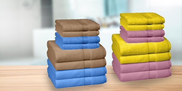 Rodinný set uterákov