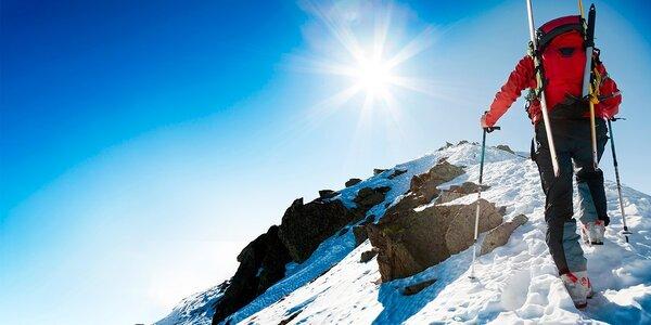 Skialpinistický kurz alebo zoznamovací kurz LAVÍNY