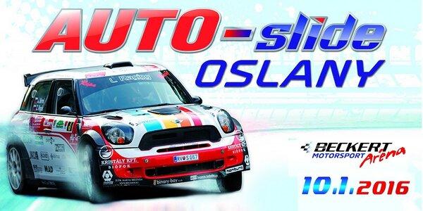 Motoristická šou AUTO-slide - 10.1.2016